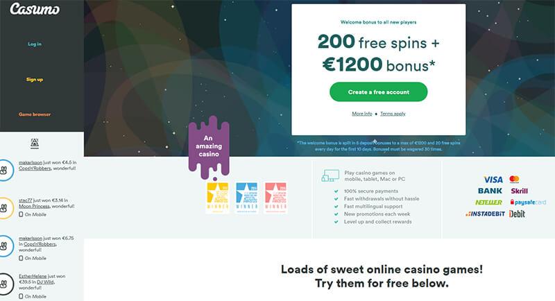 Casumo Online Casino